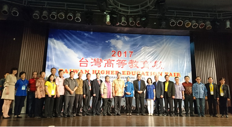 Grand opening of the 2017 Indonesia Taiwan Higher Education Expo in Jakarta