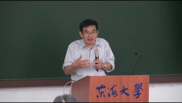 Outstanding Alumnus Delivered a Speech at Tunghai