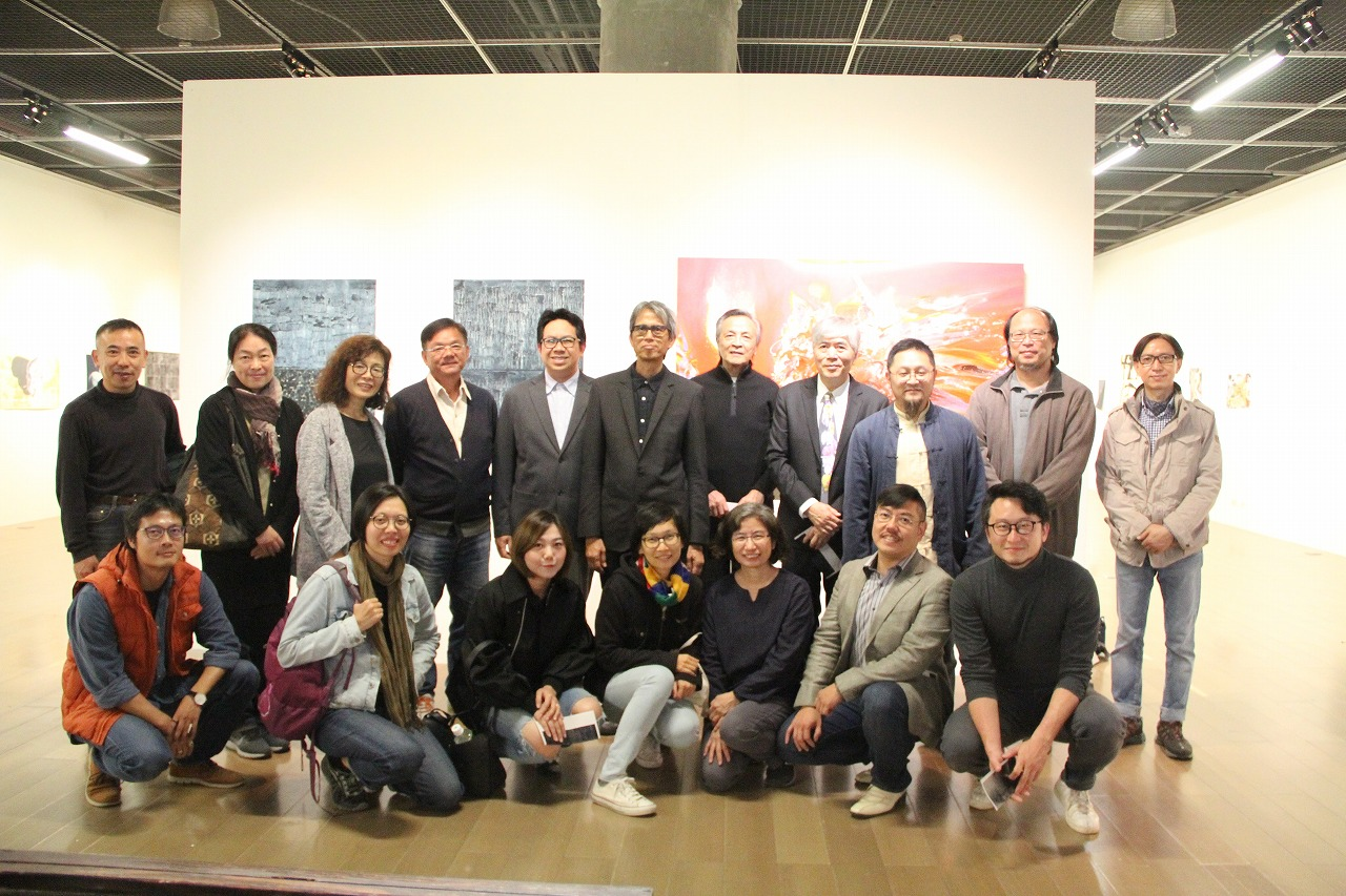 Group Picture of Existence Sense Art Exhibition Artists